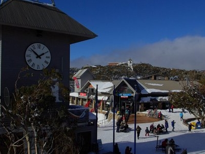 Mt  Buller Village  Stevage