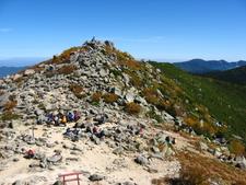 Summit Of Mount Kinp