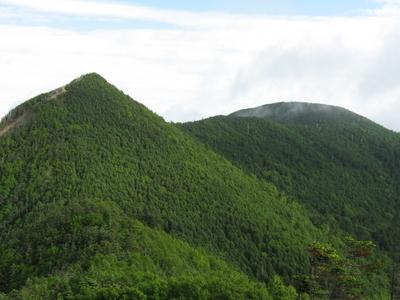 Mount Kobushi-Ga-Take And Mount Sanpo