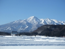 Mount Myōkō View From Northeast