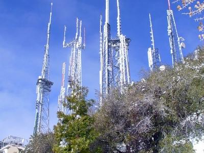 Antennas On Mount Wilson