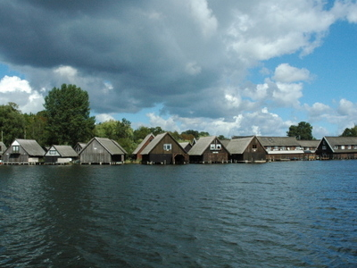 Boathouses In Müritz