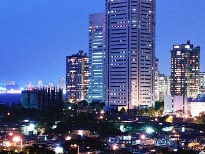 Mumbai Night Skyline