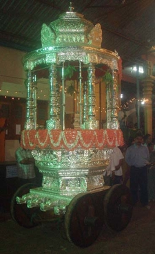 Mundkur Silver Chariot