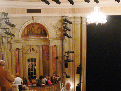 Interior Of The Music Box Theatre