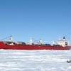 The MV Arctic Hauled Ore From The Polaris Mine