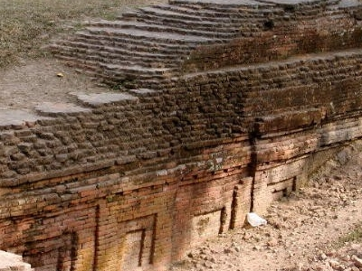 Chandraketugarh Architecture