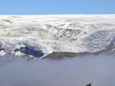 Myrdalsj Glacier Iceland