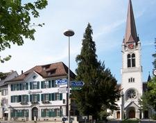 Näff House And Altstätten Church