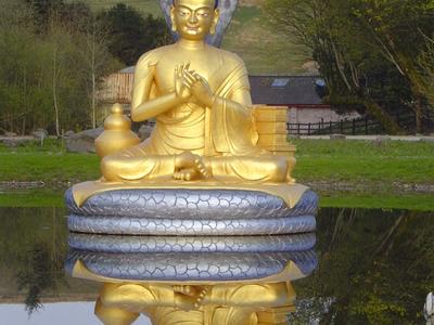 Nagarjuna At  Samye  Ling  Monastery