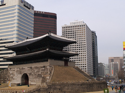 Namdaemun - View