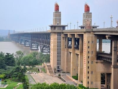 Nanjing Yangtze River Bridge Over Yangtze River