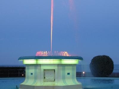 Napier's Tom Parker Fountain