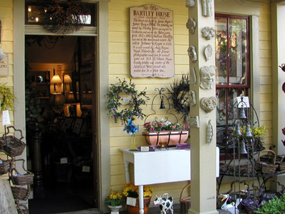 Entrance To A Shop In The Bartley House
