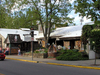 Van Buren St. In Nashville, Indiana Showing Some Shops And The H