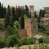 Nasrid Palaces At Alhambra - Granada Andalusia