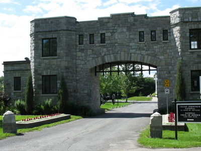 National  Field Of  Honour  Cemetery  Gates