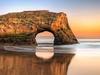 Natural Bridges State Beach CA
