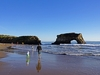 Natural Bridges State Beach View - Santa Cruz CA