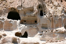 Natural Cavities And Architectural Carving Into The Soft Tuff