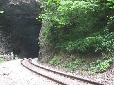 Natural Tunnel State Park