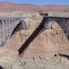 Navajo Steel Arch Highway Bridges - Grand Canyon - Arizona - USA
