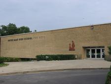 N D High School Niles Facade
