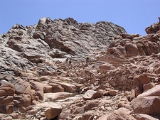 Near Mount Sinai Top