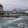 Needle Dam Regulating Lake Lucerne At Lucerne
