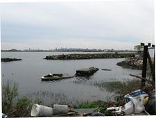 Neglected Lagoon At Clason Point