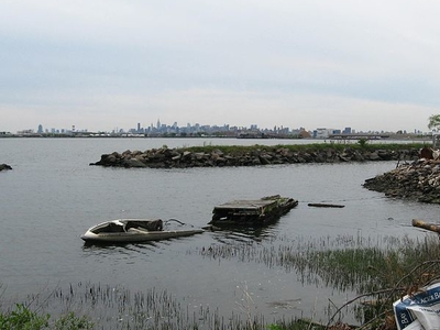 Neglected Lagoon At Clason Point
