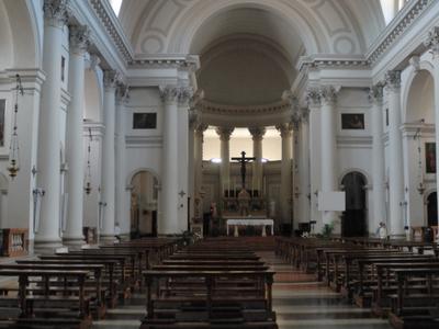 The Interior Of The Duomo