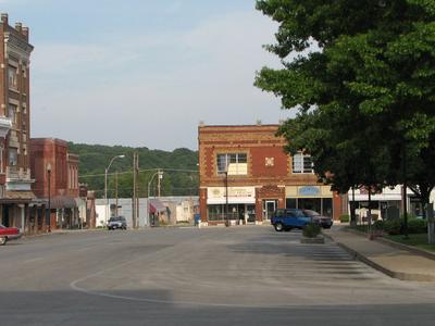 Neosho Mo Town Square