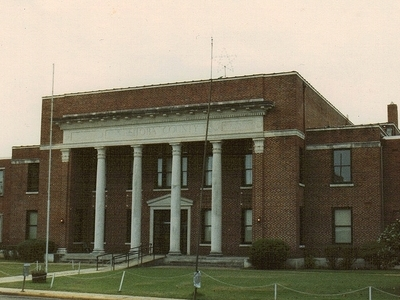 Neshoba County Courthouse In Philadelphia