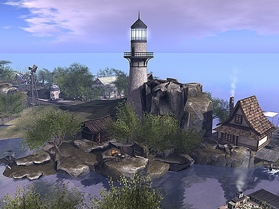 Neva River Sim Lighthouse