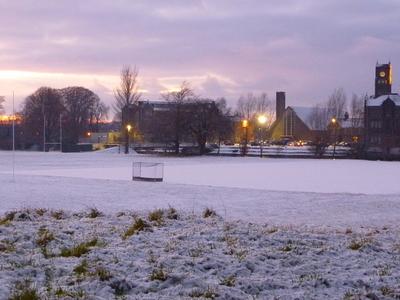Newbridge College At Sunset