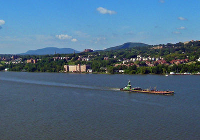 Newburgh From The Newburgh Beacon Bridge