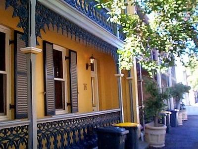 Victorian Terrace Streetscape