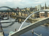 Newcastle Quayside Amp River Tyne Viewed From Gateshead
