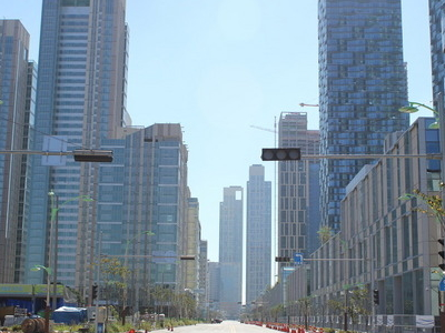 New Downtown Songdo South  Korea