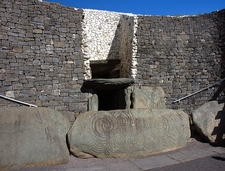 Newgrange Eingang