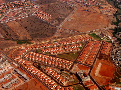 New Housing Area . Luanda