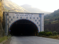 New Katraj Tunnel