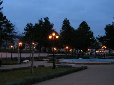View Of The New Municipal Park