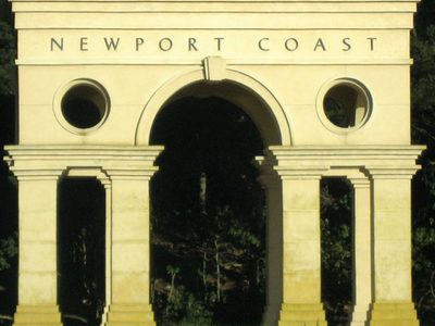Newport Coast Arch Along The Pacific Coast Highway