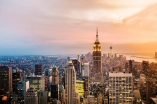 New York City Overview From Manhattan