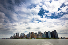 New York City View From Ferry