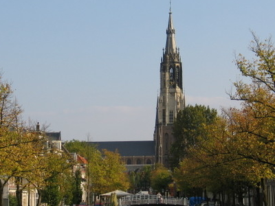 Nieuwe   Kerk  Vanuit  Het  Westen