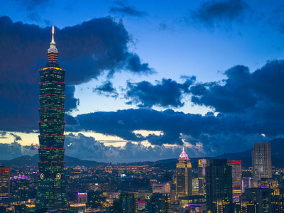 Night Taipei 101