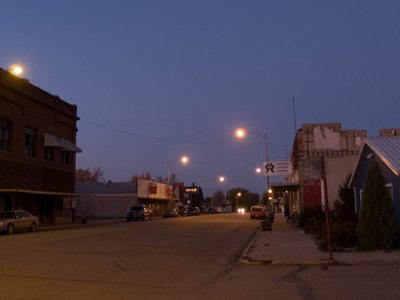 Night View Of Fessenden